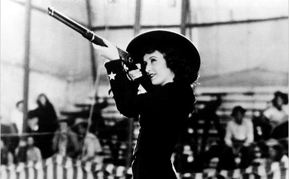 801d5233d60 Remembering Barbara Stanwyck Blogathon  Annie Oakley (1935) – MOON ...