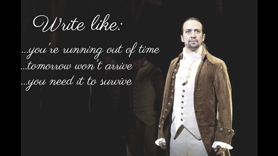 Why Writers Should Listen to the HamiltonSoundtrack
