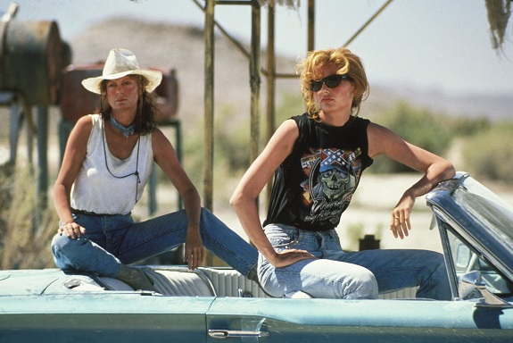 THELMA & LOUISE, Susan Sarandon, Geena Davis, 1991. (c) MGM/ Courtesy: Everett Collection. Fotograma de la pelicula 249/cordon press
