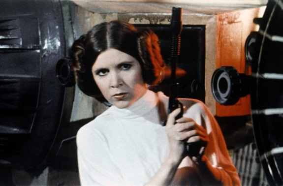 Goodbye, Princess Leia